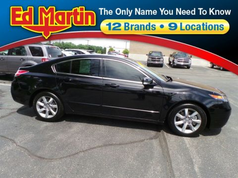 Certified Pre-Owned 2012 Acura TL  FWD 4dr Car