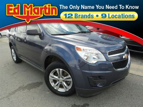 Pre-Owned 2013 Chevrolet Equinox LS FWD Sport Utility